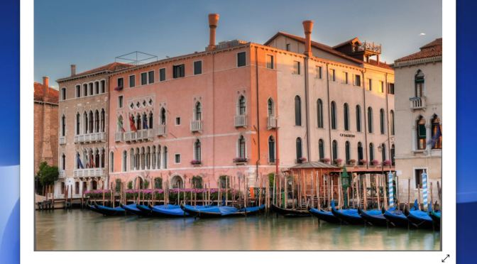 "World's Best Small Hotels: ""Ca' Sagredo – Venice"" On The Grand Canal (Video)"