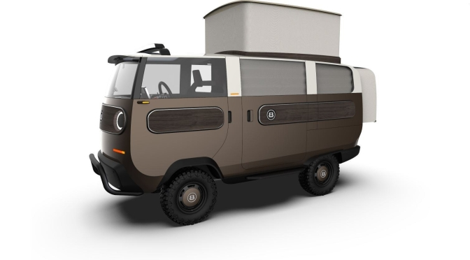 "New Electric Vehicles: The ""2021 eBussy Modular Van"" From Electric Brands"