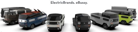 Electric Brands eBussy Vans 2021