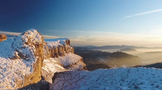 "New Aerial Travel Videos: ""Flight In Vercors Massif"" – Southeastern France"