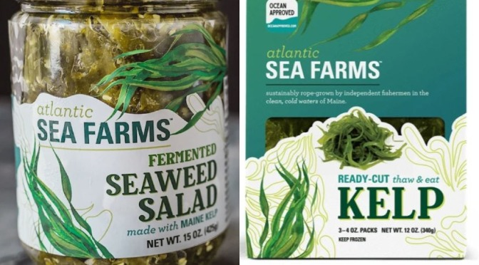 "Food Trends: American ""Fresh Seaweed"" Products Are Expanding (Podcast)"
