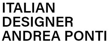 Italian Designer Andrea Ponti