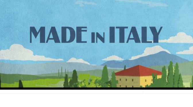 "New Film Trailers: ""Made In Italy"" Directed By James D'Arcy (August – 2020)"
