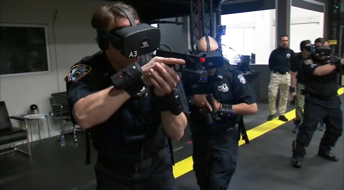 "Technology & Society: ""The Future Of Police Training"" (WSJ Podcast)"