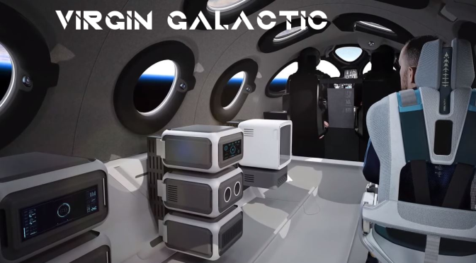 "Space Travel: ""Virgin Galactic"" Reveals Interior Of Spaceship Cabin (Video)"