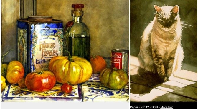 "Top Artists: Watercolor Painter Deborah Chabrian – ""Vibrant Narratives"""
