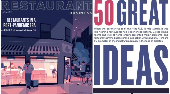 "Food & Dining: ""50 Great Ideas"" For Restaurants In A Post-Covid World"