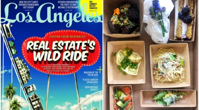 """New Issues: """"Los Angeles Magazine – July 2020"""" – Real Estate & Takeout"""