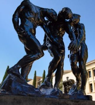 The Three Shades, Rodin, Stanford