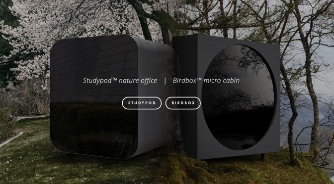 "Future Of Living Spaces: ""Studypod"" And ""Birdbox"" By Livit Design Studio"