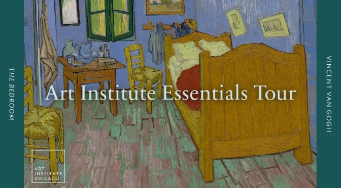 "Artwork Tours: Vincent Van Gogh's ""The Bedroom"" (Art Institute Chicago)"