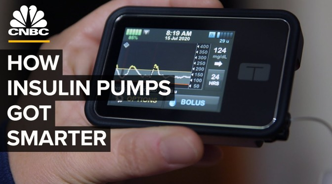 "Health Technology Video: ""Smart Insulin Pumps"" For Diabetes Management"