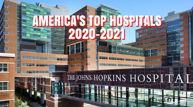 "Healthcare Rankings: ""America's Top Hospitals 2020-2021"" (U.S. News)"
