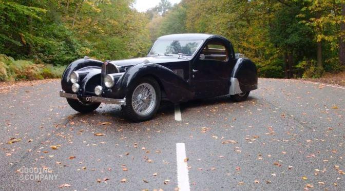 """Classic Cars: """"1937 Bugatti Type 57S Atalante"""" (Video)"""