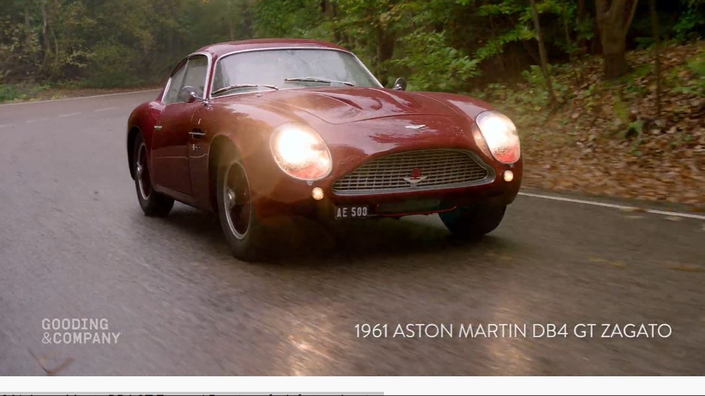 Classic Cars 1961 Aston Martin Db4 Gt Zagato Boomers Daily
