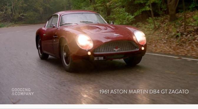 """Classic Cars: """"1961 Aston Martin DB4 GT Zagato"""""""