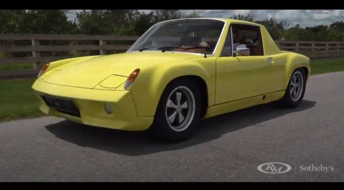 "Classic German Cars : ""1972 Porsche 916"" (Video)"