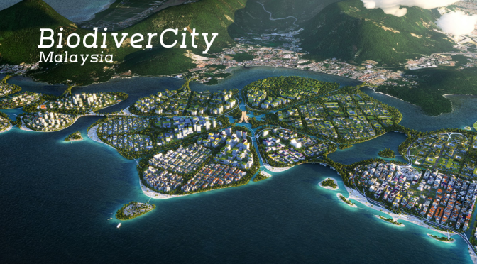 "The Future Of Cities: ""BiodiverCity"" In Malaysia – ""Urban Lilypad Islands"""