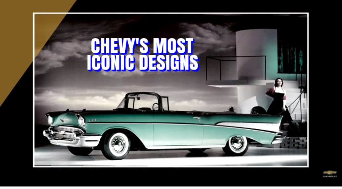 "Classic Cars: ""Chevy's Most Iconic Designs"""