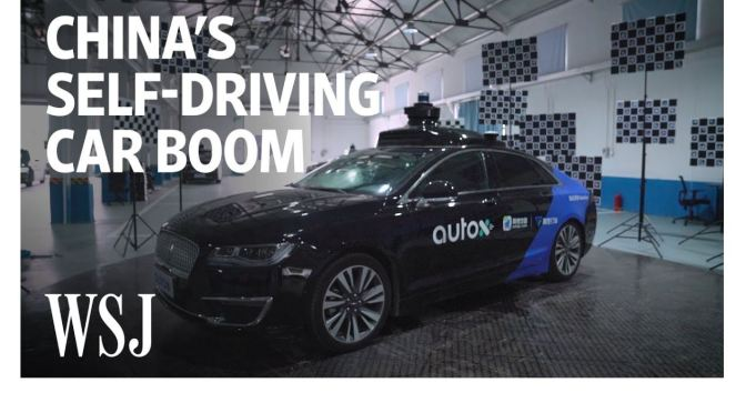 "Technology: ""China's Self-Driving Car Boom"" (WSJ)"