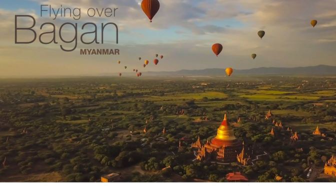 "Top New Travel Videos: ""Flying Over Bagan, Myanmar"" Directed By Martien Janssen (2020)"