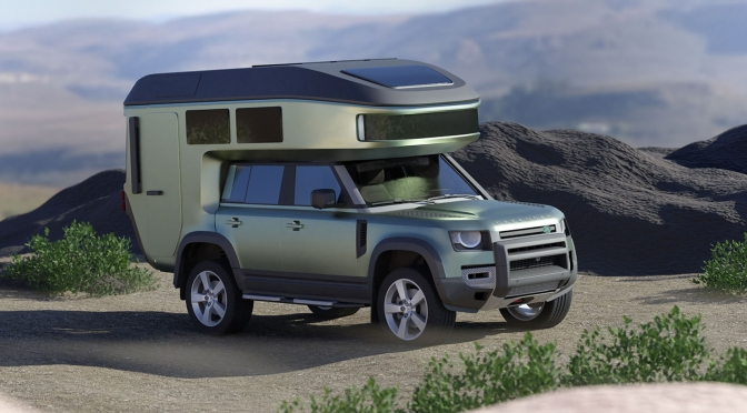 "Top New Camper Shells: ""GEHOcab Findus & Fiete"" – ""All-Terrain Mini RVs"" (2020)"