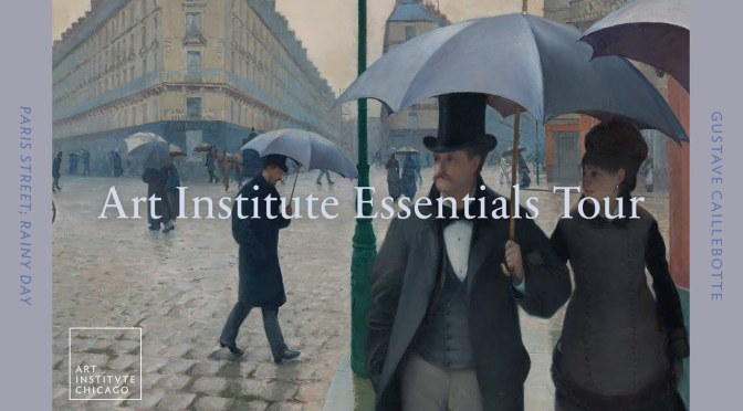 "ARTWORK VIDEO TOUR: Gustave Caillebotte's ""Paris Street; Rainy Day"""