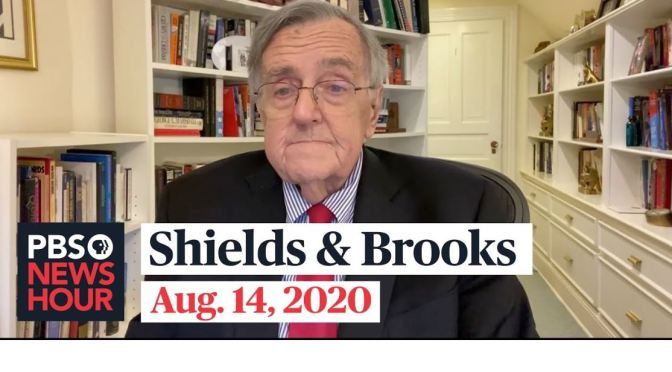 """Political News: """"Shields & Brooks"""" On The Latest In Washington (PBS Video)"""