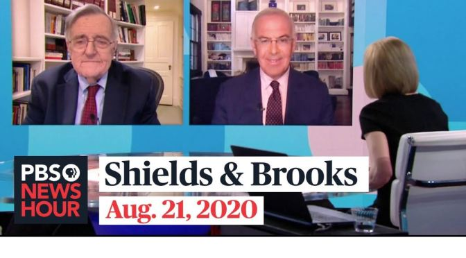"POLITICAL NEWS: ""SHIELDS & BROOKS"" ON JOE BIDEN'S DNC SPEECH (VIDEO)"