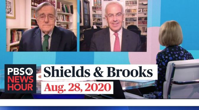 """Political News: """"Shields & Brooks"""" – Convention Analysis (PBS Video)"""