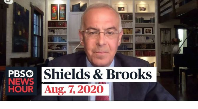 "Political News: ""Shields & Brooks"" On Latest In Washington (PBS Video)"
