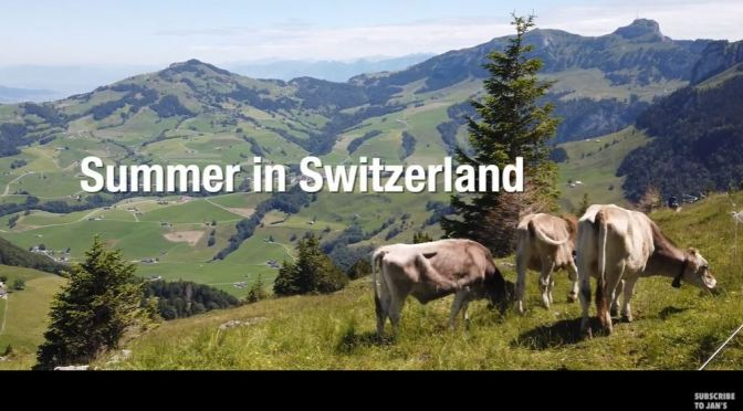 "Top New Travel Videos: ""Summer In Switzerland"" By Jan Knüsel (2020)"