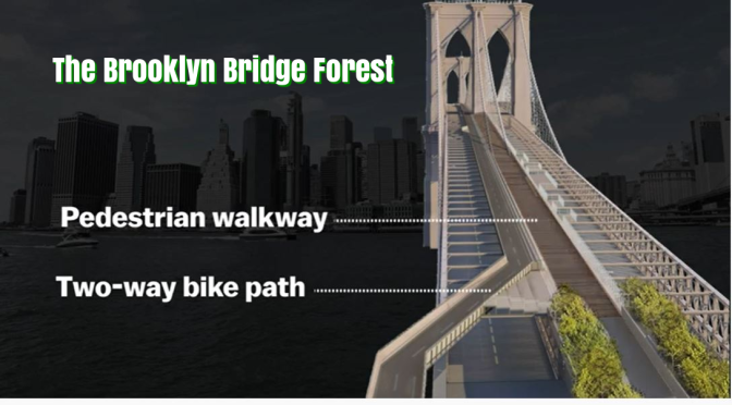 "Urban Renewal: ""The Brooklyn Bridge Forest"" Wins Design Contest (2020)"