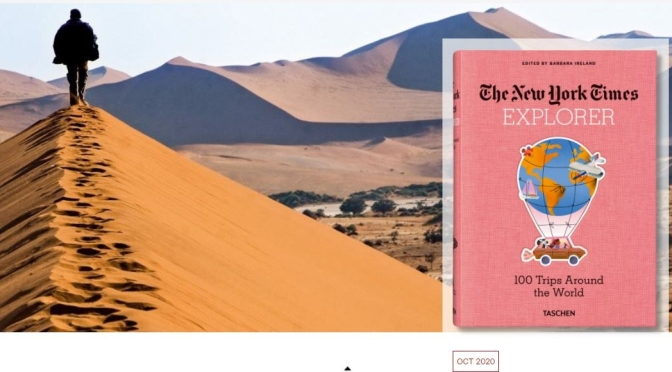 "New Travel Books: ""New York Times Explorer – 100 Trips Around The World"""