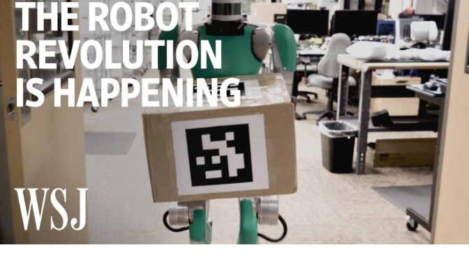 "Technology: ""The Robot Revolution Is Happening"""