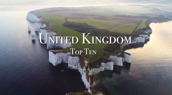 "Top New Travel Videos: Top Ten Places To Visit In The ""United Kingdom"" (2020)"
