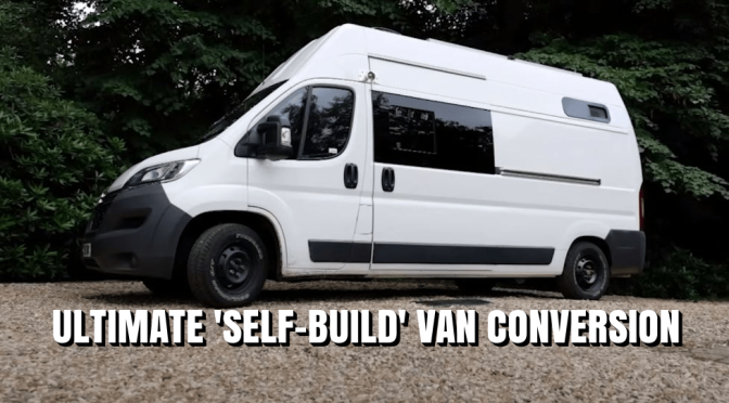 "Future Of Mobile Living: The ""Ultimate 'Self-Build' Van Conversion (Video)"