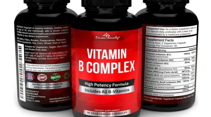 Infographic: Vitamin-B Complex Health Benefits