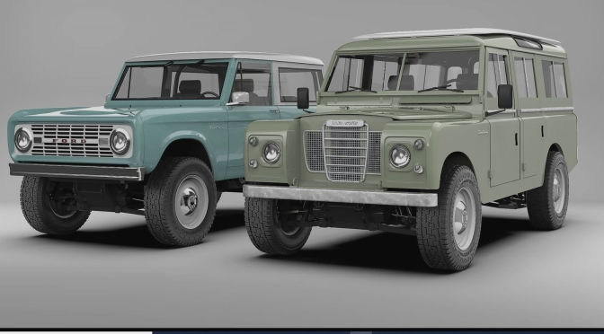 "Retro Technology 4X4's: ""Premium Classic Electric Vehicles"" From Zero Labs"