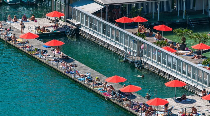 "Travel: ""Zürich's Lakeside Public Baths – Badis"""