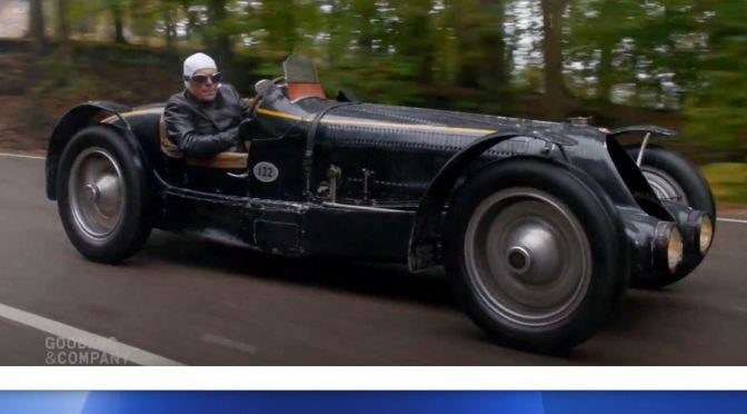 "Classic Cars: ""1934 Bugatti Type 59 Sports"" (Video)"