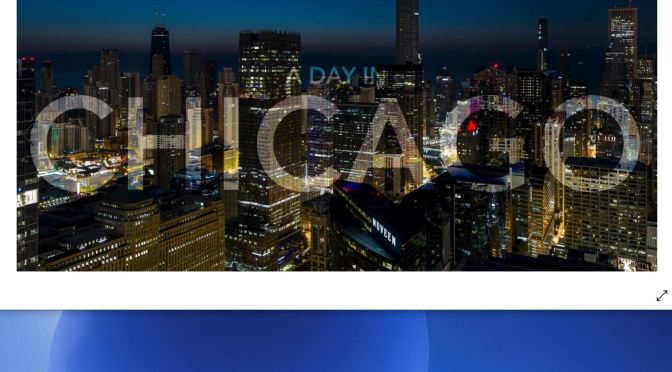 "New Timelapse Videos: ""A Day In Chicago – 4K"" (2020)"