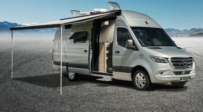 "Top New Camper Vans: 'Alphavan' – Mercedes High-End Sprinter With ""Unequaled Roominess"""