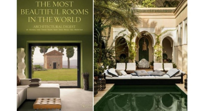 "New Design Books: ""The Most Beautiful Rooms In The World"" (AD/Rizzoli)"