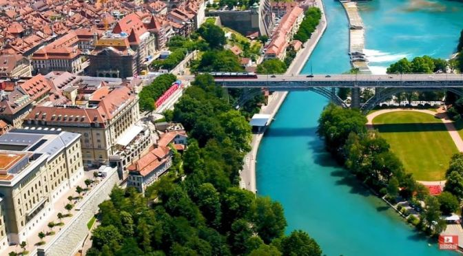 "New Aerial Travel Videos: ""Bern, Switzerland"" (2020)"