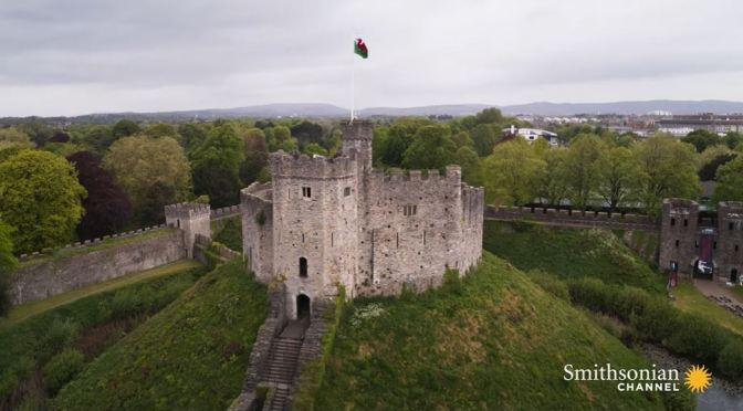 "New Aerial Travel Videos: ""Castles Of Cardiff, Wales"""