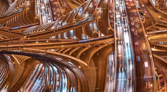 "Creative Timelapse Videos: ""Circulatory Systems"" By Yiannis Biliris – ""Highways As Arteries of Cities"" (2020)"