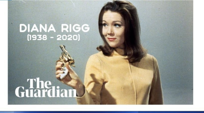 Video Tributes: Actress Diana Rigg (1938-2020)