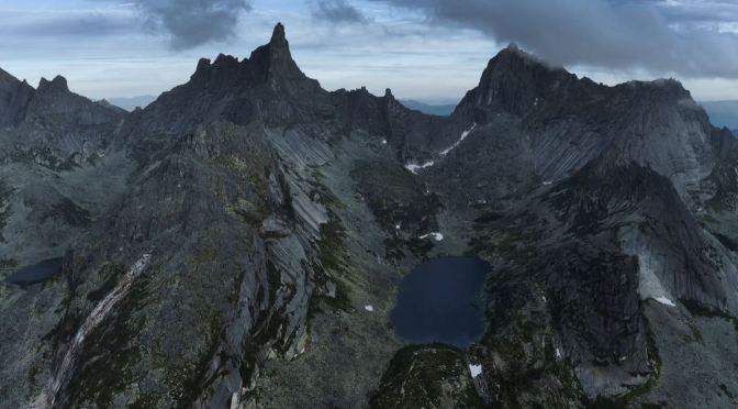 "New Aerial Travel Videos: ""Ergaki"" In Siberia, Russia"
