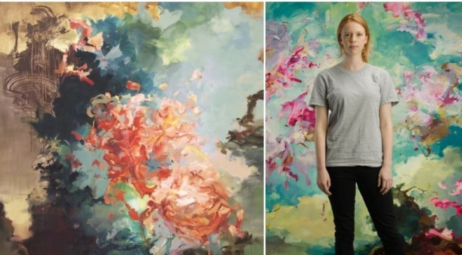 Profiles: London Artist Flora Yukhnovich – 'Art Of Tiepolo As Abstraction'